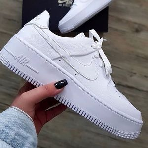 🌸 NIKE AIR FORCE 1 Sage Low Sneakers Shoes